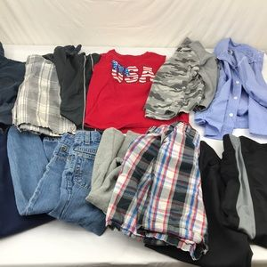 Other - 5 lb assorted lot of boys 6/7  clothing lot